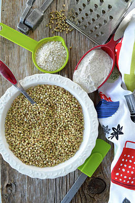 Photograph - Buckwheat In The Kitchen by Nadine Primeau
