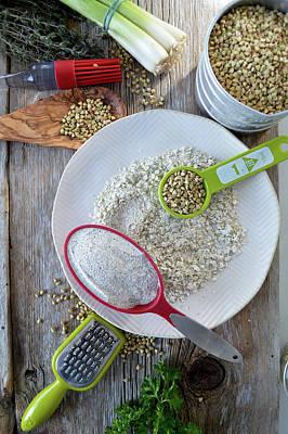 Photograph - Buckwheat Recipes by Nadine Primeau