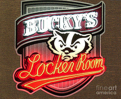 Wild And Wacky Portraits Rights Managed Images - Buckys Locker Room Royalty-Free Image by Tommy Anderson