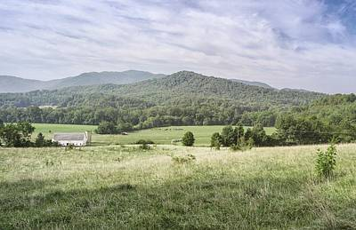 Bucolic Mountain View Art Print by Geoff Coleman
