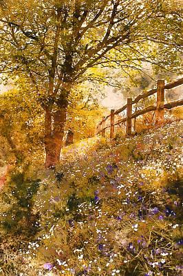 Painting - Bucolic Paradise - 04 by Andrea Mazzocchetti