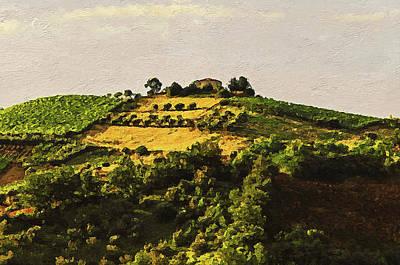 Painting - Bucolic Paradise - 08 by Andrea Mazzocchetti