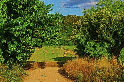 Painting - Bucolic Paradise - 09  by Andrea Mazzocchetti