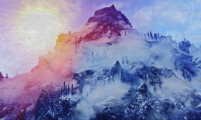 Painting - Bucolic Paradise - 10 by Andrea Mazzocchetti