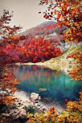 Painting - Bucolic Paradise - 12 by Andrea Mazzocchetti
