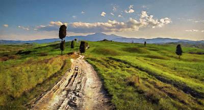 Painting - Bucolic Paradise - 15 by Andrea Mazzocchetti