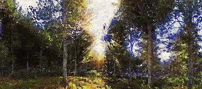 Painting - Bucolic Paradise - 17 by Andrea Mazzocchetti