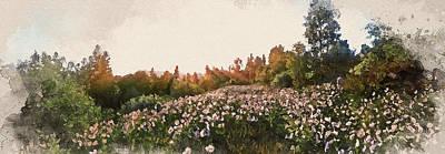 Painting - Bucolic Paradise - 18 by Andrea Mazzocchetti