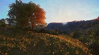 Painting - Bucolic Paradise - 19 by Andrea Mazzocchetti