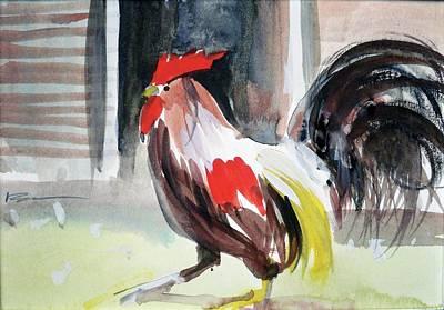 Painting - bud by Ed Heaton