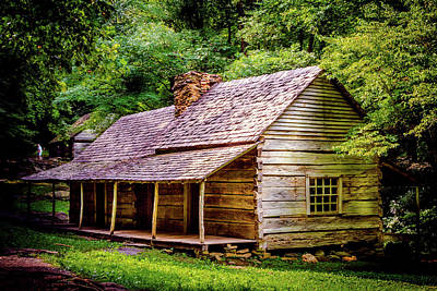 Photograph - Bud Ogle Homestead - Gatlinburg, Tn by Barry Jones