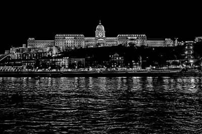 Buda Castle Over The Danube Art Print