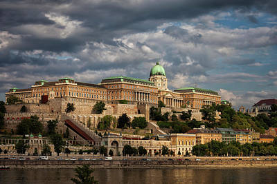 Photograph - Buda Castle Royal Palace In Budapest by Artur Bogacki