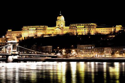 Photograph - Budapest At Night Art by David Pyatt