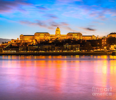 Photograph - Budapest Castl - Hungary by Luciano Mortula