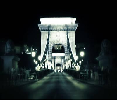 Budapest Photograph - Budapest Chain Bridge by Marianna Mills
