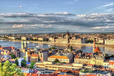 Photograph - Budapest City View by David Pyatt