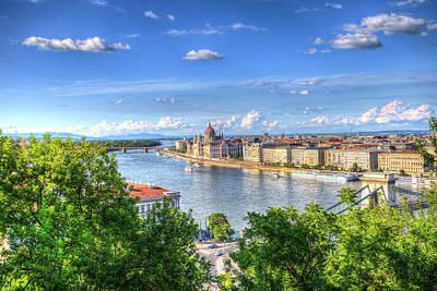 Photograph - Budapest City Vista by David Pyatt