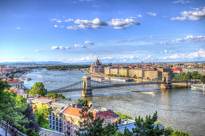 Photograph - Budapest Cityscape by David Pyatt