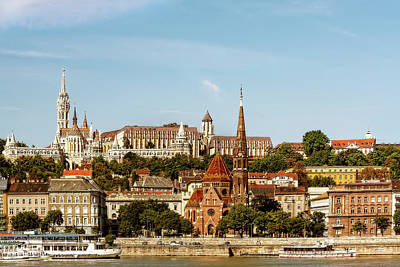 Photograph - Budapest, Hungary Castle District by Kay Brewer