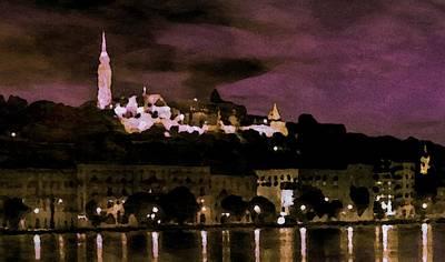 Budapest - Id 16236-105014-9910 Art Print