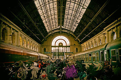 Budapest Keleti Railway Station Art Print