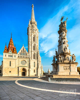 Photograph - Budapest - Mathias Cathedral - Hungary by Luciano Mortula