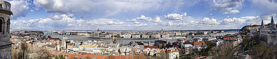 Photograph - Budapest Panorama by Heather Applegate