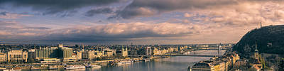 Eastern Europe Photograph - Budapest Panorama II by Joan Carroll