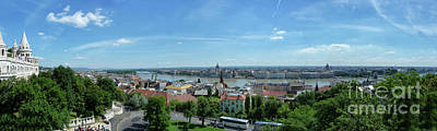 Photograph - Budapest Panorama by Lynn Bolt