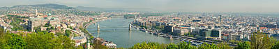 Photograph - Budapest Panorama Photo by Matthias Hauser