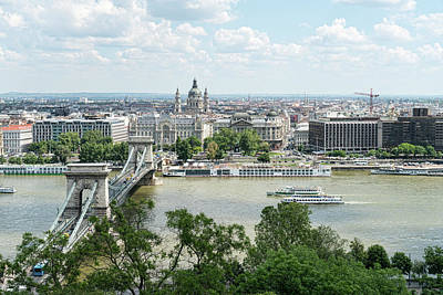 Photograph - Budapest Skyline by Sharon Popek