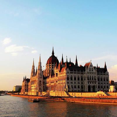 Photograph - Budapest Sunset by Loretta Luglio