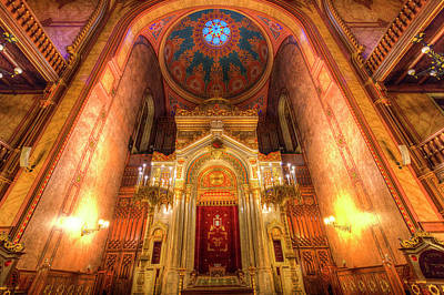 Photograph - Budapest Synagogue  by David Pyatt