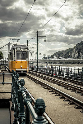 Photograph - Budapest Train by Daria Klepikova