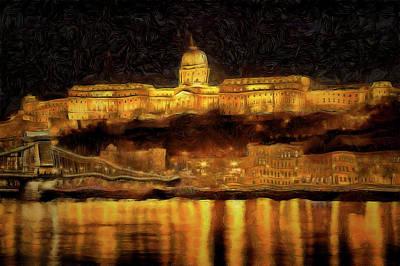 Photograph - Budapest Van Gogh by David Pyatt