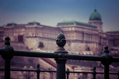 Photograph - Budavari Palota - Budapest by David Warrington