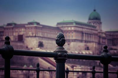 Photograph - Budavari Palota - Budapest by David Warrington