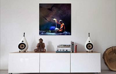 Digital Art - Budda Boy Two by Richard Ricci