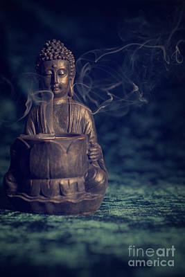 Buddah Art Print by Amanda Elwell