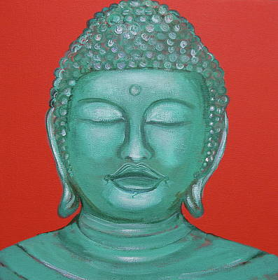 Buddah Painting - Buddah I by Sue Wright