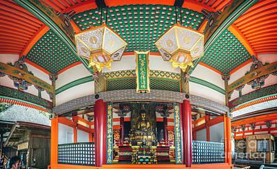 Photograph - Buddah Shrine At Kiyomizudera by Karen Jorstad