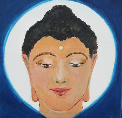 Painting - Buddha 1 by Wendy Le Ber
