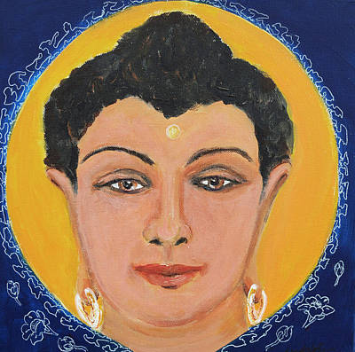 Painting - Buddha 11 by Wendy Le Ber