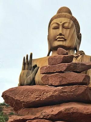 Photograph - Buddha 2 by Lorella Schoales