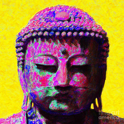 Buddha 20130130m168 Print by Wingsdomain Art and Photography