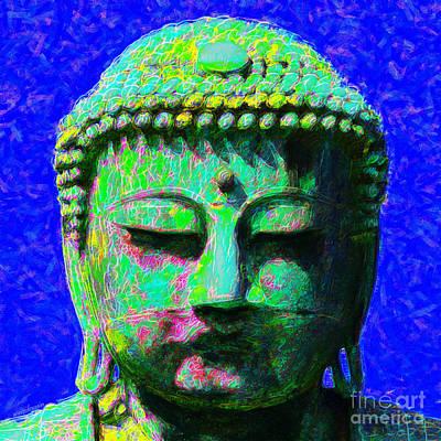 Buddha 20130130p18 Art Print by Wingsdomain Art and Photography