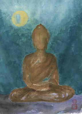 Painting - Buddha Abstract by Terri Harris