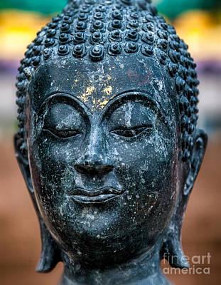 Zen Digital Art - Buddha by Adrian Evans