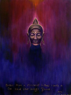 Painting - Buddha by Alexandra Florschutz